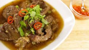 thai beef stew recipe เน อต น thai kitchen youtube