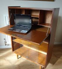 bureau retro antiques atlas retro teak writing bureau desk