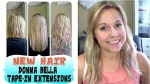 in hair extensions reviews new hair extensions donna in to