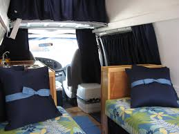 Camper Bunk Bed Sheets by Converting A Cargo Van To A Camper Van 5 Considerations Rvshare Com