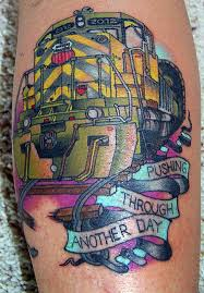 train graffiti tattoo design real photo pictures images and