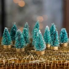 miniatures and winter crafts