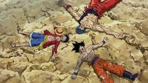 toriko piece dragon ball crossover anime fight