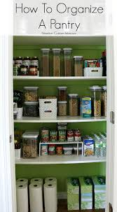Ideas For Organizing Kitchen Pantry - how to organize a pantry kitchen pantries pantry and organizing