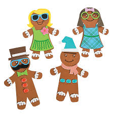 silly gingerbread magnet craft kit craft kits gingerbread and