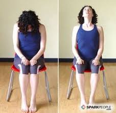 8 seated yoga poses you can do from a chair cow pose cat pose