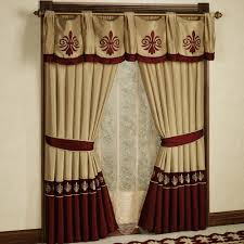 luxury curtains for living room luxury brown lace patterned living