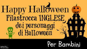 Poems About Halloween That Rhymes by Halloween Happy Halloween Inglese Per Bambini Piccoli