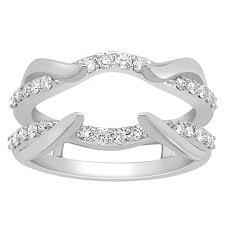 Wedding Ring Enhancers by Ring Jacket Ring Enhancer Anniversary Ring Wedding Band Real