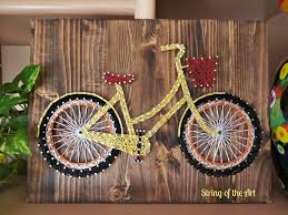 Polynesian Home Decor by Best 25 Bicycle String Art Ideas On Pinterest String Art