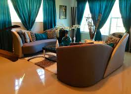 Color Schemes For Living Rooms With Brown Furniture by Furniture Contemporary Teal Living Room Accessories Like Curtains