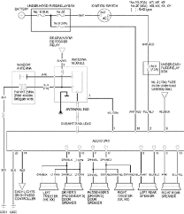 2001 honda odyssey radio wiring diagram wiring diagrams