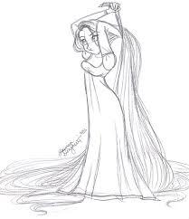sketches rapunzel tower sketch www sketchesxo