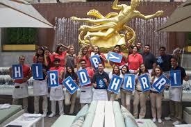 Summer Garden Bar - 100 hires in 30 days harri successfully staffs summer garden