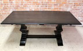 black rustic dining table great modest design black rustic dining table black wash venetian