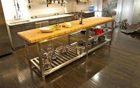 commercial kitchen island commercial kitchen island kitchen island with butcher block top