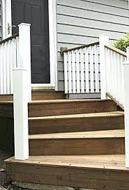 Wooden Front Stairs Design Ideas Wooden Front Steps Front Stairs Wooden Front Stairs