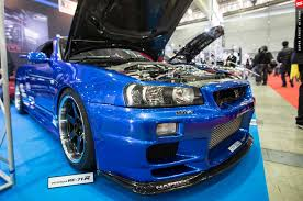 nissan blue paint code tokyo auto salon 2016 top secret v spec ii skyline gt r
