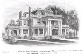 Queen Anne Home Plans George F Barber Homes