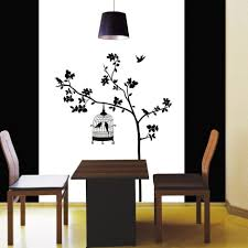 dining room decals awesome bird silhouette wall decals decoration silhouette wall