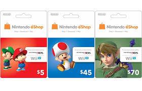 nintendo eshop gift card now selling digital codes for eshop credit nintendo