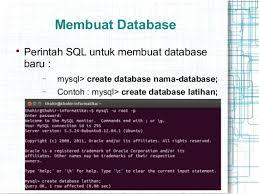 membuat database baru di sql server pengantar rdbms
