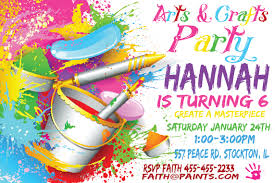 art birthday invitations birthday invitations the sewing network