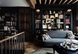 dark interior a dozen beautiful living rooms with dark walls apartment therapy