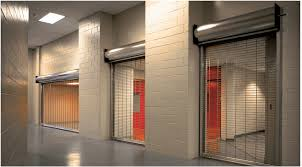 Overhead Security Door Upward Coiling Security Grilles 671 Overhead Door Co