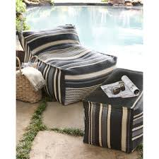 bean bag chair with ottoman outdoor bean bag chair crafts home