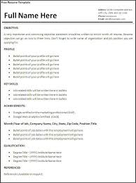 First Time Job Resume Examples by First Time Resume Examples
