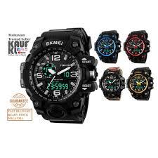 Jam Tangan G Shock qoo10 skmei 1155 original analog digital jam tangan g shock
