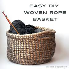 Basic Diy Loom And Woven by Diy Woven Basket Basket Ropes And Baskets