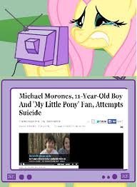 Know Your Meme Brony - 11 year old brony attempts suicide after being bullied for liking