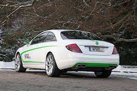 500 cl mercedes wrap works gave mercedes cl500 a tuning treatment