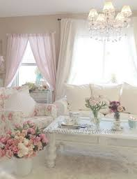 Pink Living Room Furniture 25 Charming Shabby Chic Living Room Decoration Ideas For