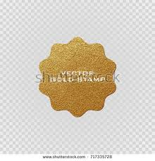 premium quality golden label gold sign stock vector 717763966