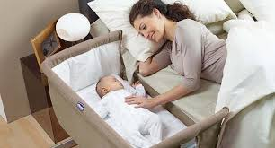 baby crib next to bed inertiahome com