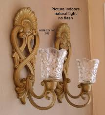 home interior sconces decor tips candle sconces with glass votive holders and
