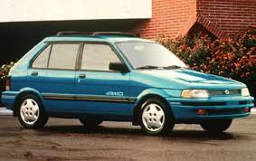 old subaru hatchback 1994 subaru justy information and photos zombiedrive