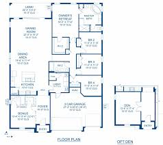 sienna a new home floor plan at union park 65 u0027s by homes by westbay