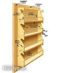 Under Cabinet Cookbook Holder by Kitchen Storage Projects That Create More Space Family Handyman