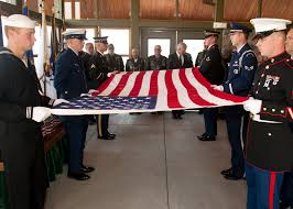Flag Folding Ceremony Miap Ceremony Hosted At Wa State Veterans Cemetery U003e Air Mobility