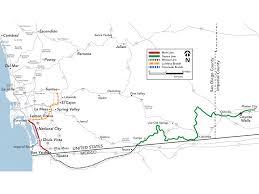 Us And Mexico Map Agreement To Revive Mexico U2013 Usa Desert Line Railway Gazette