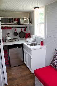 tiny house kitchen ideas maple wood cool mint windham door tiny house kitchen ideas