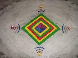 rangoli patterns using mathematical shapes geometric rangoli maths pinterest math