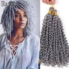 crochet black weave hair razeal freetress crochet braids water wave curly crochet braid