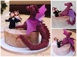 Wedding Cake Gum Groom Fighting Dragon Wedding Cake I Think This Is The One Only