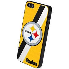 pittsburgh steelers team logo hard snap on apple iphone 5 case