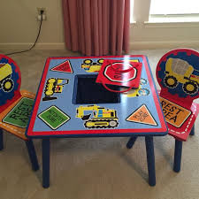 Kids Table And Chairs With Storage Find More Kids Table With 2 Chairs And With Toy Storage In Middle